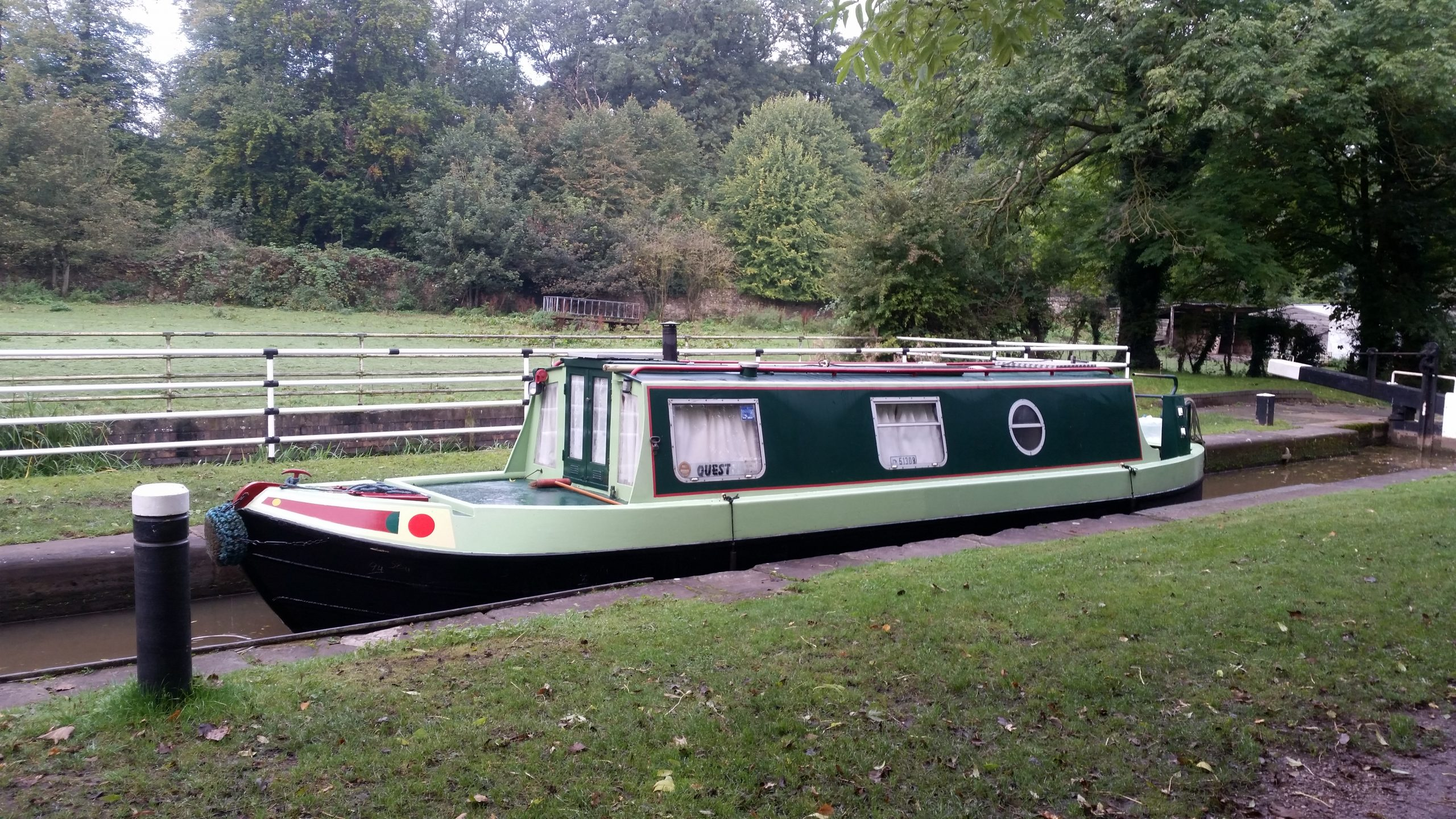 Deliver narrowboat to Oundle